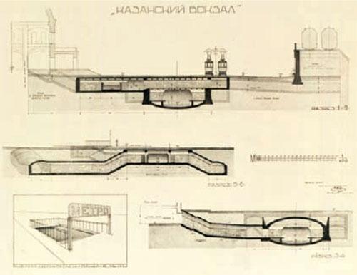 Проект станции «Казанский
