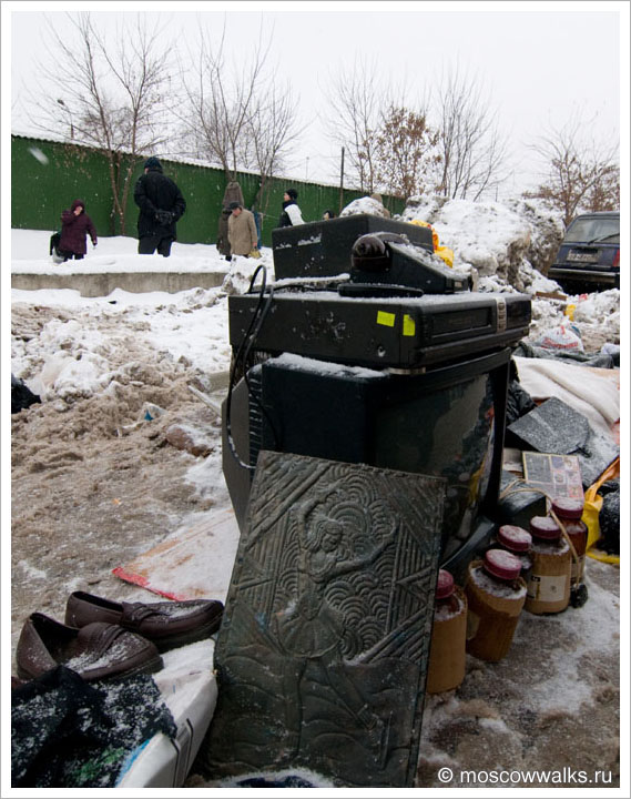 Блошиный рынок в Лианозово