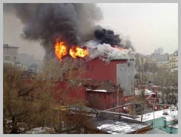 Пожар в Дягилеве