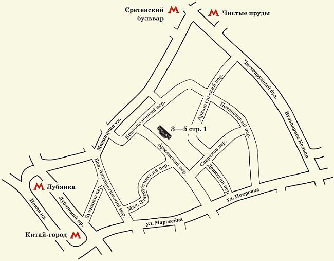 сайта музея «Огни Москвы».