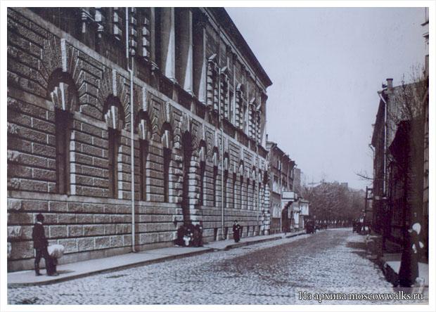 Дом Гавриила Тарасова на Спиридоновке