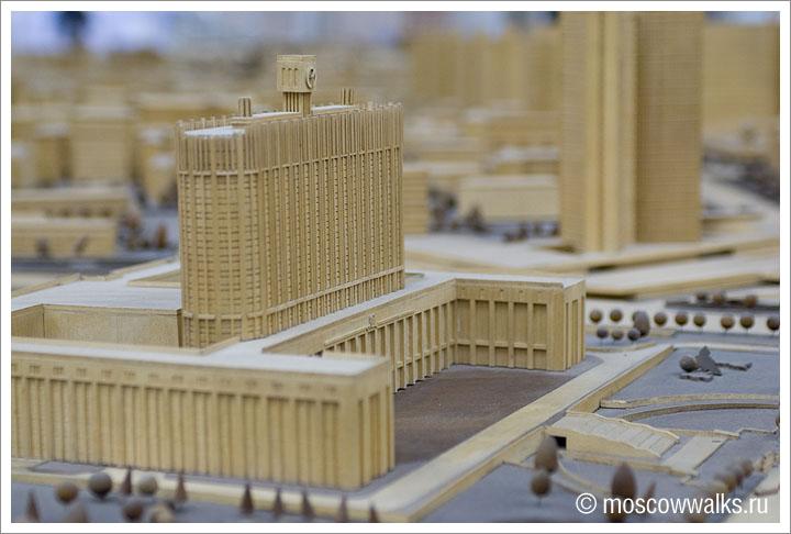 Макет Москвы