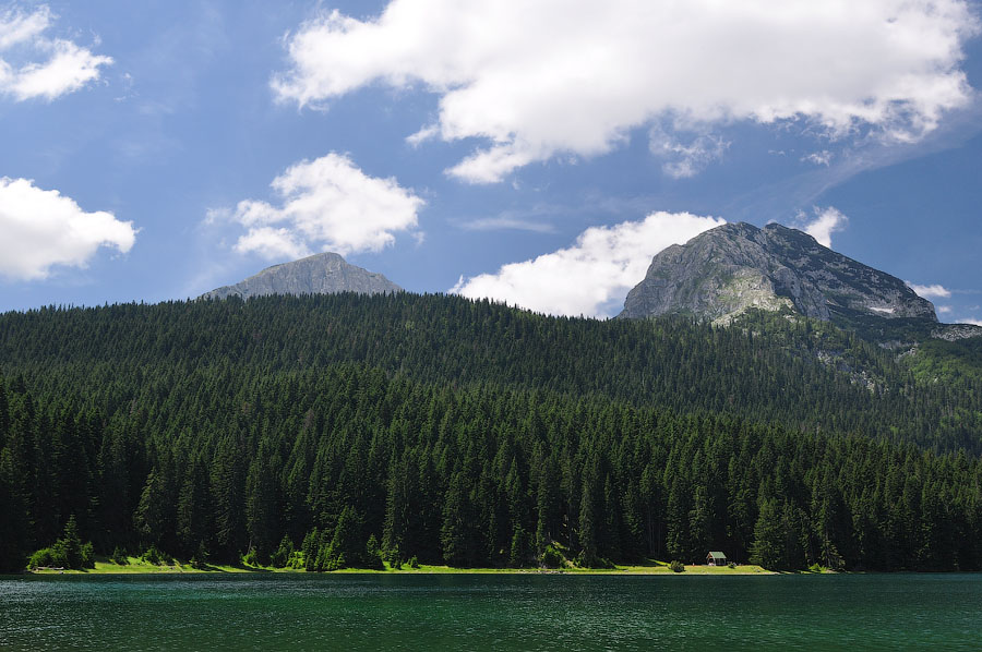 Черногория, Черное озеро