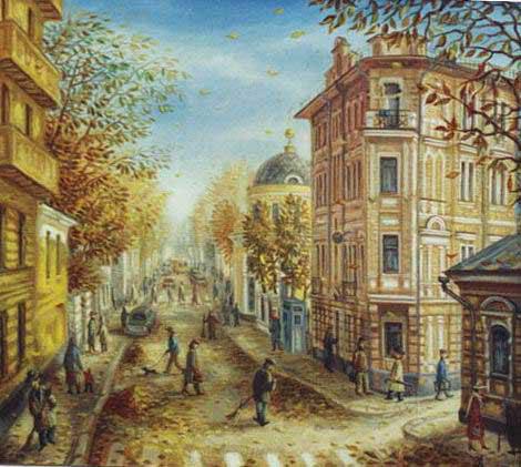 Старая Москва. Картины Сергея Васильевича Волкова