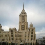 Гостиница «Украина». Обрушение башни