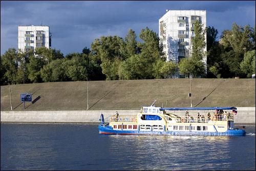 открытие навигации прогулочных теплоходов по реке Москве