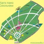 Реконструкция парка Сокольники