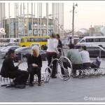 Велопарковка около ТЦ «Европейский»