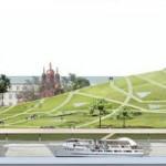 Выставка проектов парка на месте Зарядья