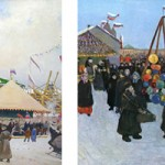 Из истории Масленицы в Москве