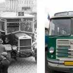 История московского автобуса