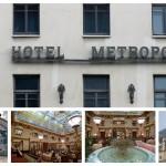 Гостиница Метрополь: детали снаружи и интерьеры