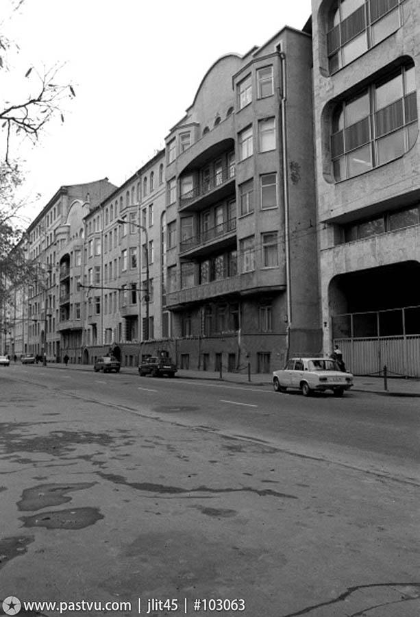 Бывший доходный дом на Тверском бульваре