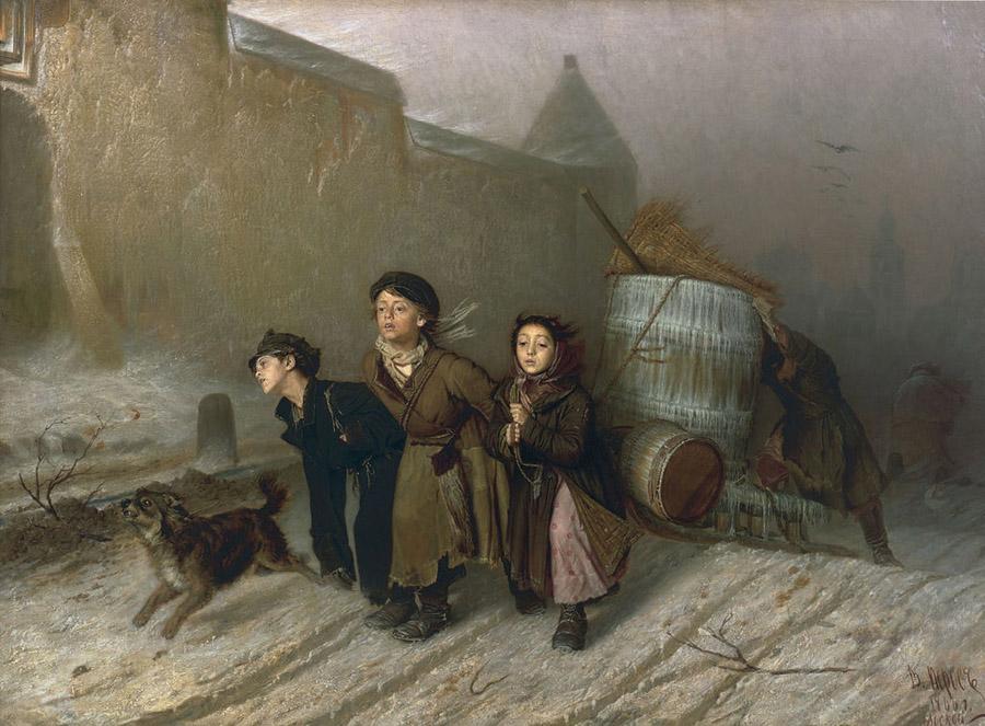 Тройка_-_Василий_Григорьевич_Перов_(1866)