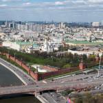 Как готовится воздушный парад и виды Москвы с вертолета