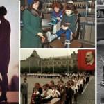Дети в Москве. Подборка старых фотографий