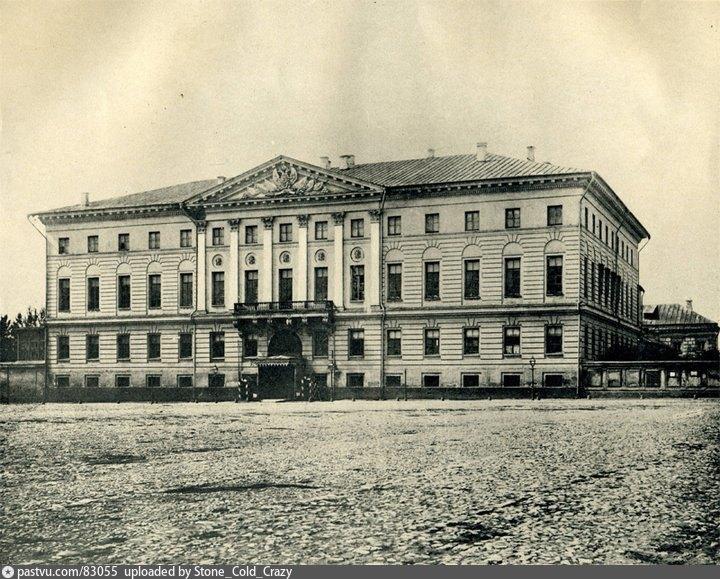 Здание мэрии. Старое фото