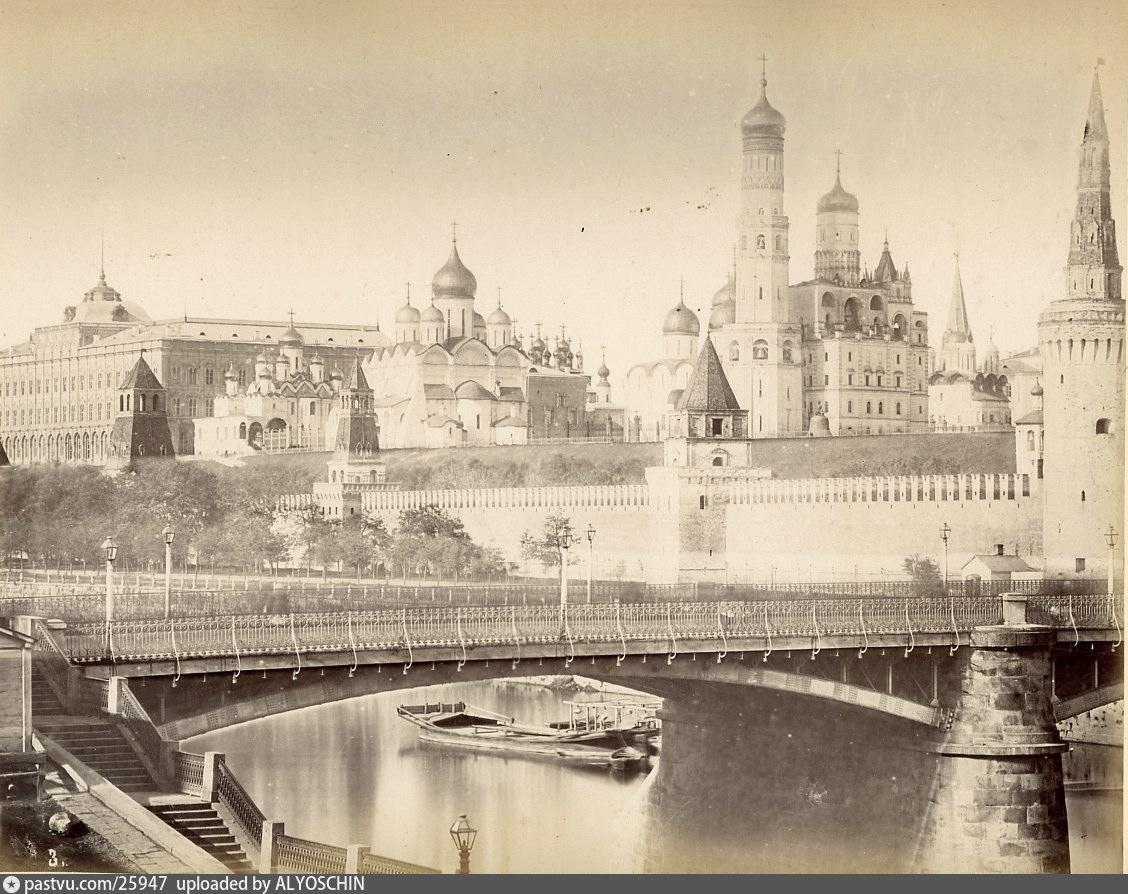 Вид Кремля. Старая фотография