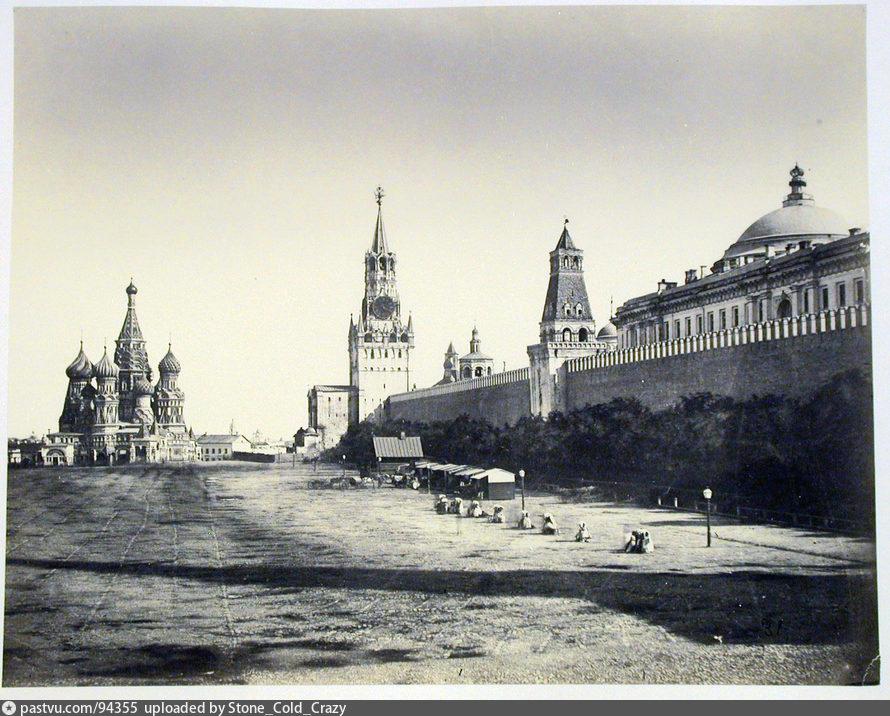 Самая старая фотография Красной площади