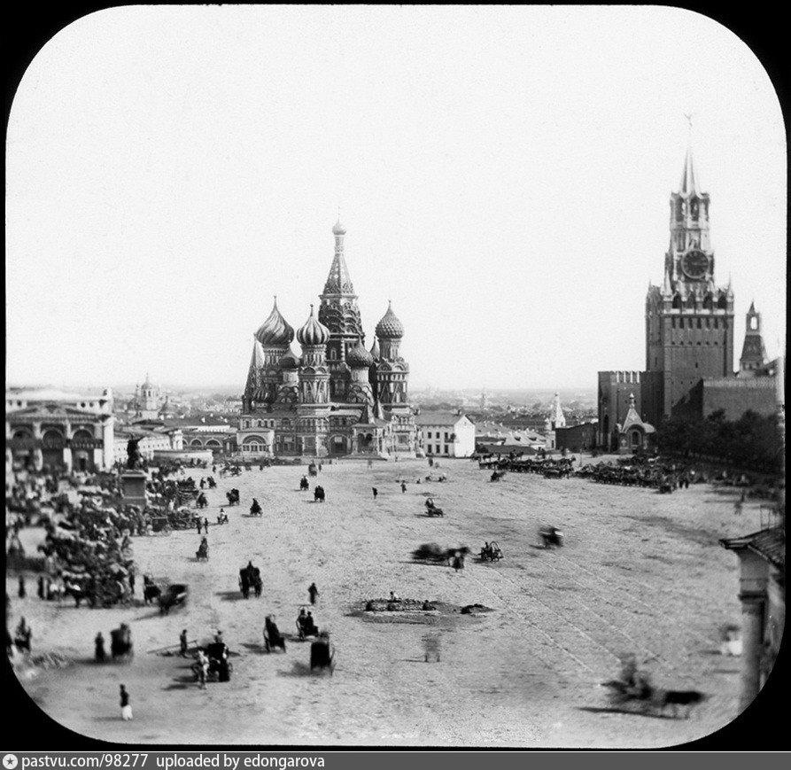 Старейшая фотография Красной площади