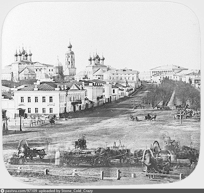 Старая фото Трубной площади