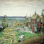 История Москвы в картинах Аполлинария Васнецова