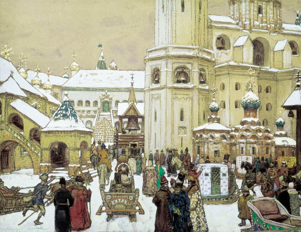 Площадб Ивана Великого. Васнецов
