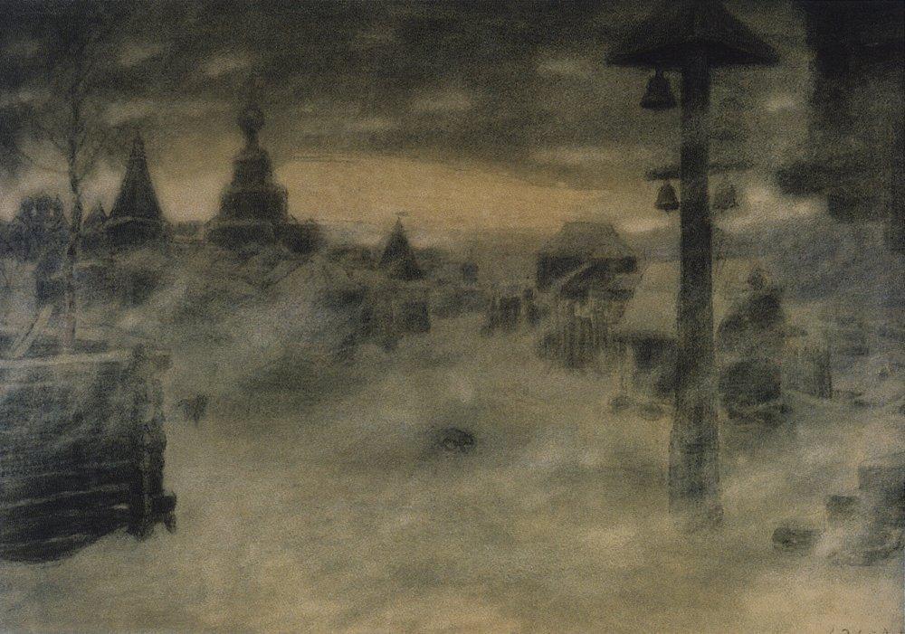 Метель. Старая Москва