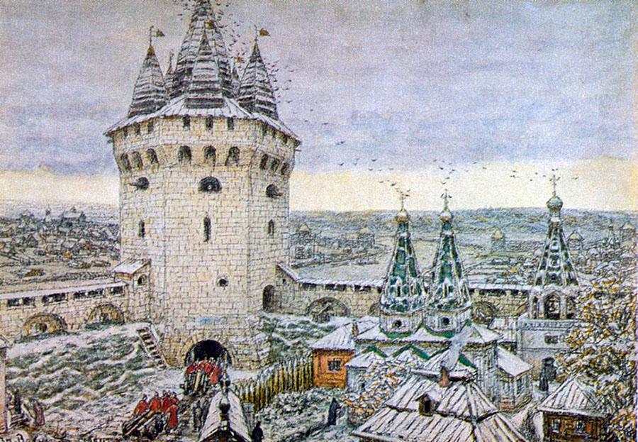 Васнецов. Семиверхая башня