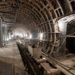 Строительство станции метро «Бутырская»