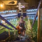 Как прошли крещенские купания: самое центральное, массовое и красивое