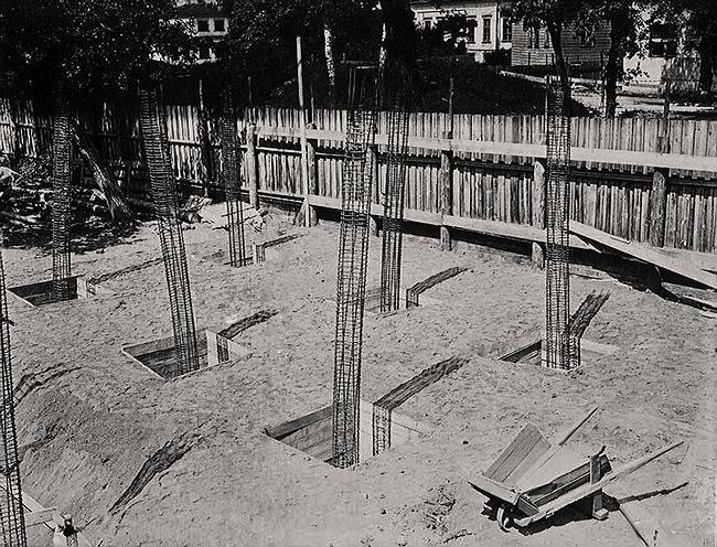 2651 Строительство дома Наркомфина