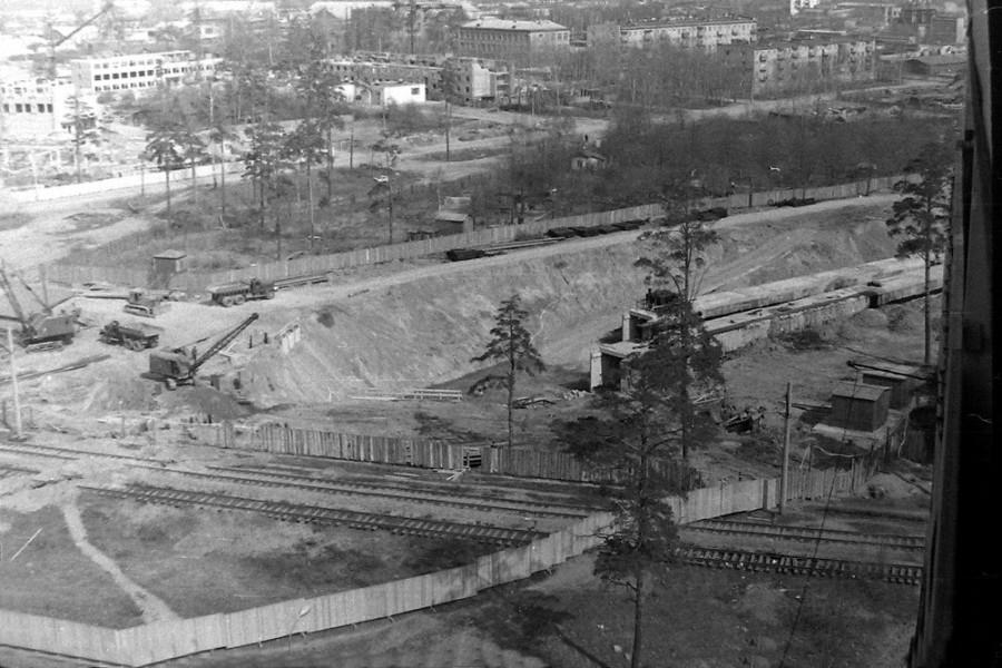 410548 Строительство станции метро Свиблово и пути Бескудниковской Лосиноостровской соединительной ветки