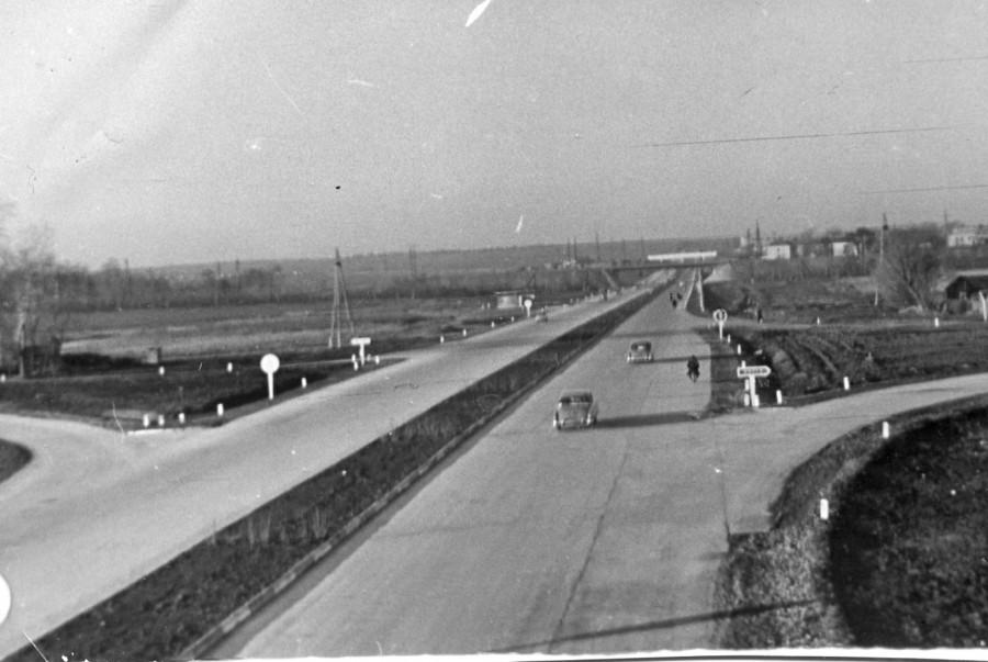Пересечение МКАД и Минского шоссе
