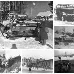 Война почти пришла в город. 76 лет контрнаступлению под Москвой (редкие фото)