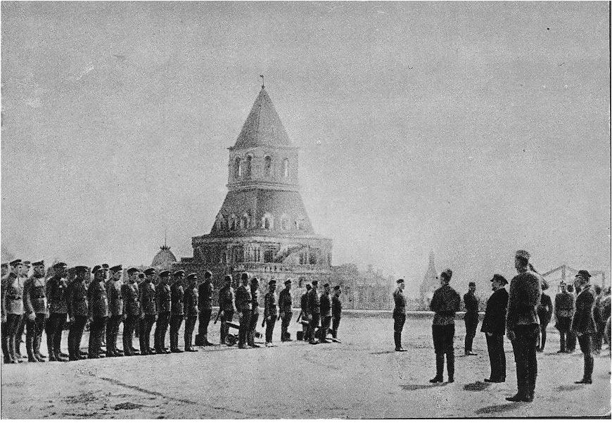 216731 Кремль. Развод (?) на плацу