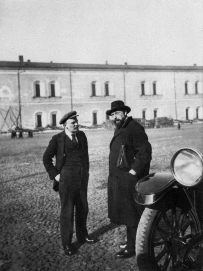 84728 Ленин и Бонч-Бруевич в Кремле