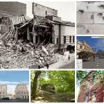 Следы войны в Москве: осколки, ДОТы, разрушенные здания и кварталы