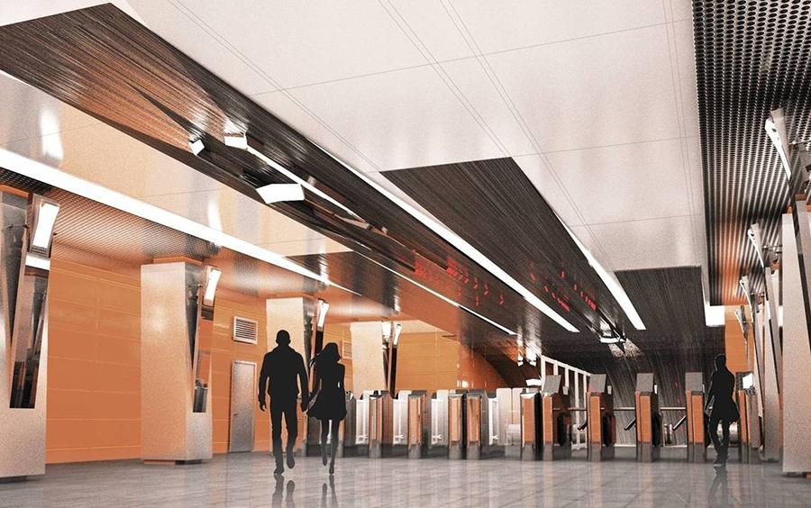 Боровское шоссе - вестибюль (вид 1)11