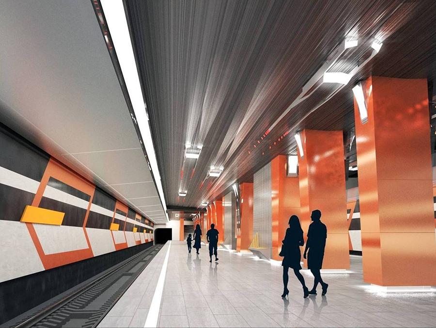 Боровское шоссе - платформа 11