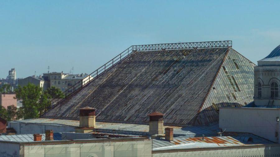 крыша почтампта