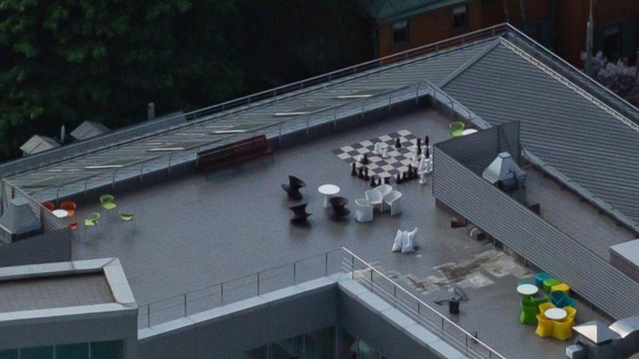 шахматы на крыше яндекса