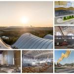 Центр художественной гимнастики в Лужниках: фото со стройки и крыши