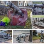 Памятники собакам в Москве