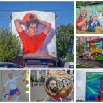 Футбольный стрит-арт Москвы