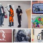 Самый интересный нелегальный стрит-арт 2019 года в Москве